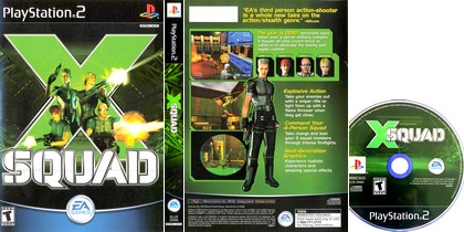 X-Squad (NTSC-U US PAL EU Eng) - Download ISO