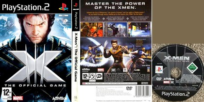 X-Men: The Official Game (NTSC-U US PAL EU Eng Fr Spa Es Ita) - Download ISO