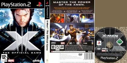 X-Men: The Official Game (NTSC-U US PAL EU Eng Fr Spa Es Ita) - Download ISO ROM (PS2) | EmuGun.Com