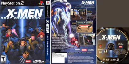 X-Men: Next Dimension (NTSC-U US PAL EU Eng Fr Ger De) - Download ISO ROM (PS2) | EmuGun.Com