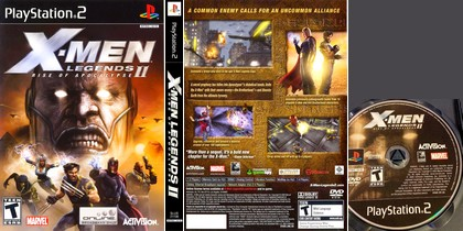 X-Men Legends II: Rise of Apocalypse (NTSC-U PAL EU Eng Fr De Es Ita) - Download ISO
