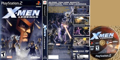 X-Men Legends 1 (NTSC-U US PAL EU Eng Ger De) - Download ISO