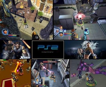 X-Men Legends 1 (NTSC-U US PAL EU Eng Ger De) - Download ISO ROM (PS2) | EmuGun.Com