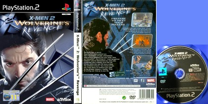 X-Men 2: Wolverine's Revenge (PAL EU Eng Fr De Es Ita) - Download ISO