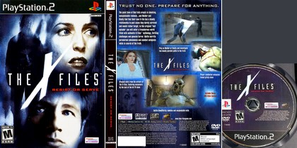 The X-Files: Resist or Serve (NTSC-U US PAL EU Eng) - Download ISO ROM (PS2) | EmuGun.Com
