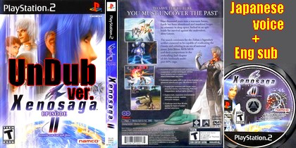 Xenosaga Episode II (UnDub) (NTSC-U USA Japanese voice - Eng text sub) - Download ISO ROM (PS2) | EmuGun.Com