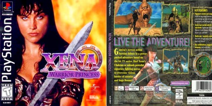 Xena: Warrior Princess (NTSC-U PAL EU Eng Fr Ger Spa) - Download ISO