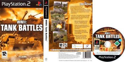 WWII: Tank Battles (PAL EU Eng) - Download ISO ROM (PS2)