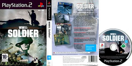 WWII: Soldier (PAL EU Eng) - Download ISO ROM (PS2)
