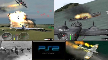 WWII: Battle Over Europe (PAL EU Eng) - Download ISO ROM (PS2)