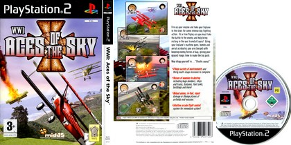 WWI: Aces of the Sky (PAL EU Eng) - Download ISO ROM (PS2)