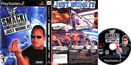WWF SmackDown! Just Bring It (NTSC-U US PAL EU Eng) - Download ISO ROM (PS2)