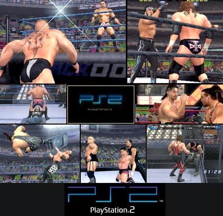 WWE SmackDown! Shut Your Mouth (NTSC-U US PAL EU Eng Kor Jap) - Download ISO ROM (PS2)