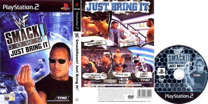 WWE SmackDown! Just Bring It (PAL EU NTSC-U US Eng) - Download ISO ROM (PS2)