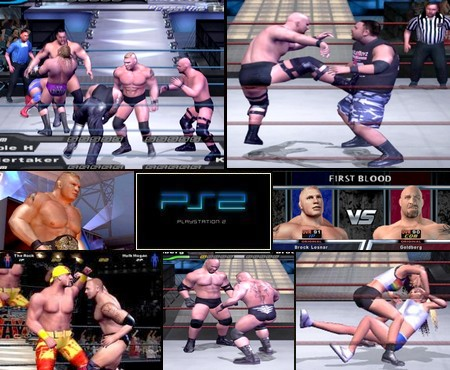WWE SmackDown! Here Comes the Pain (NTSC-U US PAL EU Eng Kor Jap) - Download ISO ROM (PS2)