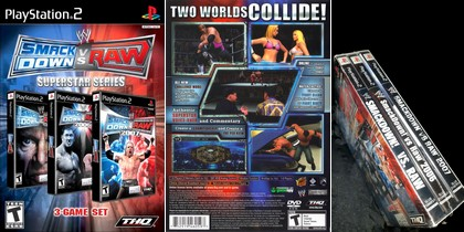 WWE SmackDown vs. Raw: Superstar Series (NTSC-U US Eng) - Download ISO ROM (PS2)