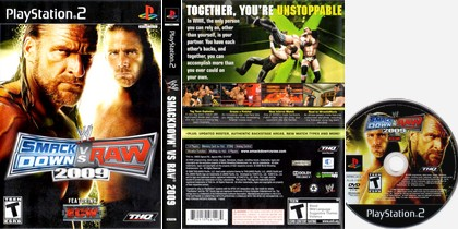 WWE SmackDown vs. Raw 2009 (NTSC-U US PAL EU Eng It De Es Fr) - Download ISO ROM (PS2)