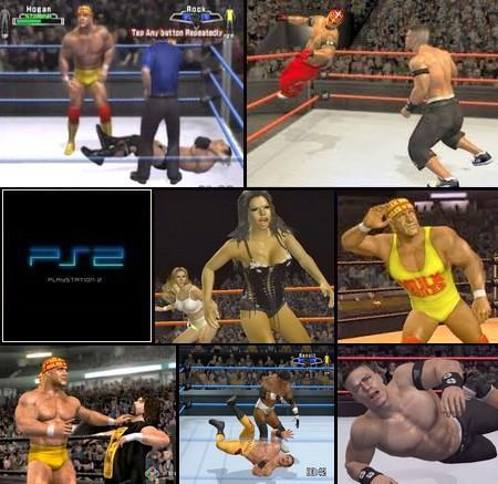 WWE SmackDown vs. Raw 2007 (NTSC-U US PAL EU Eng Ita Kor Jap) - Download ISO ROM (PS2)