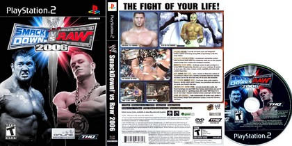 WWE SmackDown! vs. Raw 2006 (PAL EU NTSC-U US Eng Ita Kor Jap) - Download ISO ROM (PS2)