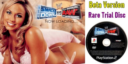 WWE SmackDown vs. Raw - Beta Version Trial Disc (PAL EU Eng) - Download ISO ROM (PS2)