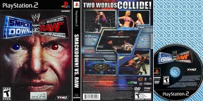WWE SmackDown! vs. Raw (NTSC-U US PAL EU Eng Kor Jap) - Download ISO ROM (PS2)