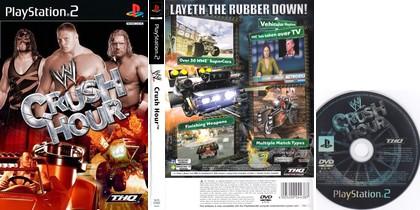 WWE Crush Hour (NTSC-U US PAL EU Eng) - Download ISO ROM (PS2)