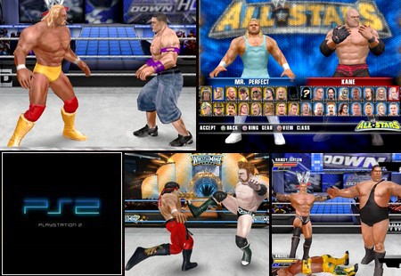 WWE All Stars (NTSC-U US PAL EU Eng Es It De Fr) - Download ISO ROM (PS2)