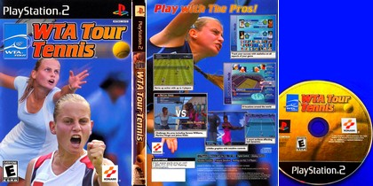 WTA Tour Tennis (NTSC-U US Jap PAL EU Eng De Fr) - Download ISO ROM (PS2)