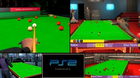 WSC REAL 08: World Snooker Championship (PAL EU Eng) - Download ISO ROM (PS2)