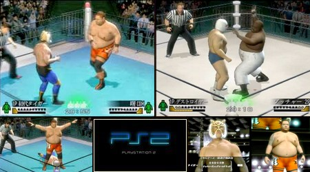 Wrestle Kingdom 2: Pro Wrestling Sekai Taisen (J) - Download ISO ROM (PS2)