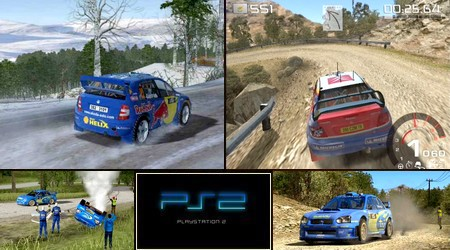 WRC: Rally Evolved (PAL EU Eng De Fr It Es Nor Pt Fi Su) - Download ISO ROM (PS2)
