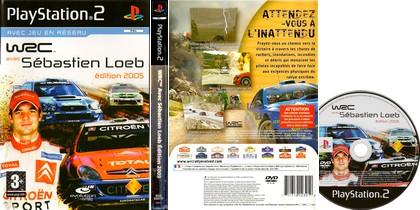 WRC avec Sébastien Loeb Édition 2005 (PAL EU French) - Download ISO ROM (PS2)
