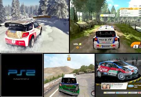 WRC 4: FIA World Rally Championship (PAL EU NTSC-J Eng De Fr It Es Fi Su Pt No) - Download ISO ROM (PS2)