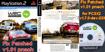 WRC 4 (Fix Patched v1.01 pnach PCSX2-v1.7.0-dev-233) (PAL EU Eng) - Download ISO ROM (PS2)