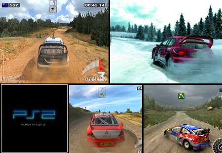 WRC 3: The Official Game of the FIA World Rally Championship (J) - Download ISO ROM (PS2)