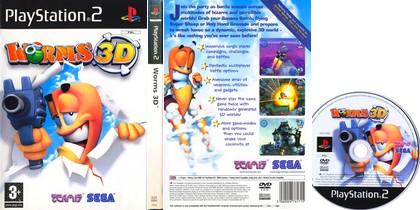 Worms 3D (PAL EU NTSC-U US Eng It Fr De Es) - Download ISO ROM (PS2)