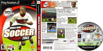 World Tour Soccer 2003 (NTSC-U US Eng Ita Fr De Es Nl Pt) - Download ISO ROM (PS2)