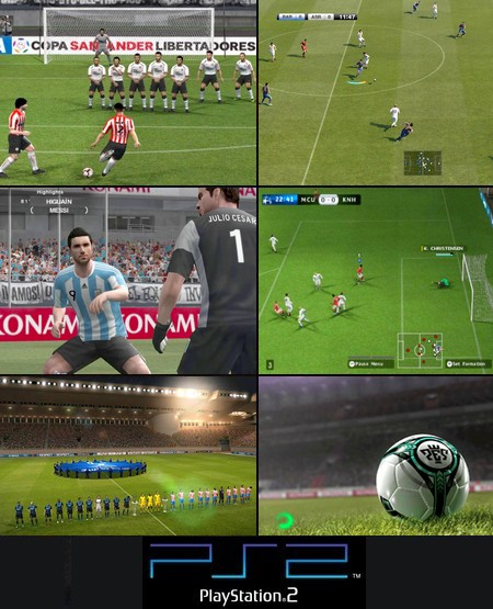 World Soccer Winning Eleven 2011 (NTSC-J Jap Eng China Korea) - Download ISO ROM (PS2)