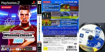 World Soccer Winning Eleven 2008 (NTSC-J Jap Kor Eng) - Download ISO ROM (PS2)