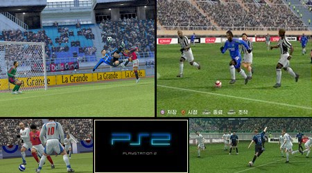 World Soccer Winning Eleven 10: Liveware Evolution (Korea) - Download ISO ROM (PS2)