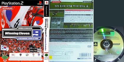 World Soccer Winning Eleven 9: Liveware Evolution (Korea) - Download ISO ROM (PS2)