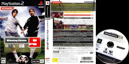 World Soccer Winning Eleven 9 (NTSC-J NTSC-U Jap Eng Fr It Es De Kor) - Download ISO ROM (PS2)