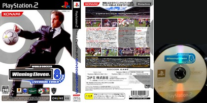 World Soccer Winning Eleven 8: Liveware Evolution (J) - Download ISO ROM (PS2)