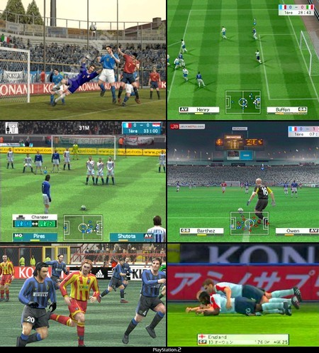 World Soccer Winning Eleven 8 (J) - Download ISO ROM (PS2)
