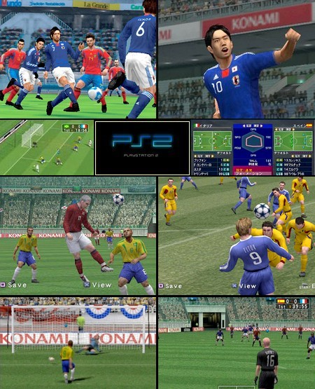World Soccer Winning Eleven 7 (J) - Download ISO ROM (PS2)