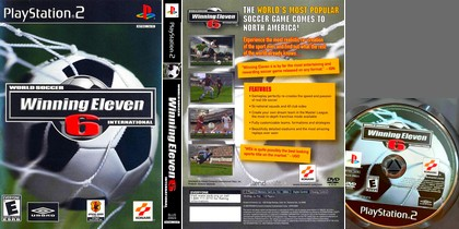 World Soccer Winning Eleven 6 International (NTSC-U US Eng Fr De It Es) - Download ISO ROM (PS2)
