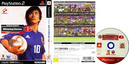 World Soccer Winning Eleven 6 Final Evolution (J) - Download ISO ROM (PS2)