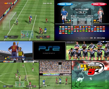 World Soccer Winning Eleven 5 (J) - Download ISO ROM (PS2)