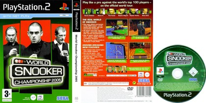 World Snooker Championship 2005 (PAL EU Eng) - Download ISO ROM (PS2)