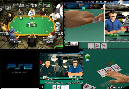 World Series of Poker 2008: Battle for the Bracelets (NTSC-U US PAL EU Eng) - Download ISO ROM (PS2)